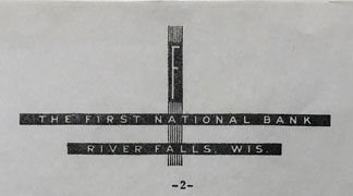 First National Bank History - 11 - 1932