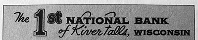 First National Bank History - 21 - 1950