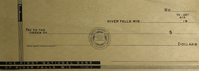 First National Bank History - 12 - 1933