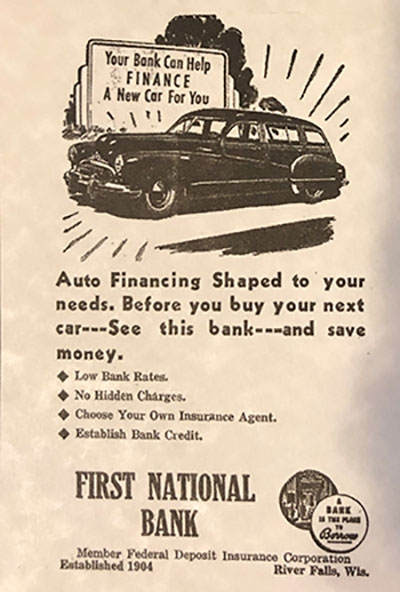 First National Bank History - 18 - 1943