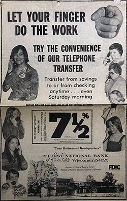 First National Bank History - 31 - 1977