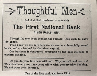 First National Bank History - 3 - 1904