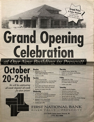 First National Bank History - 37 - 1997