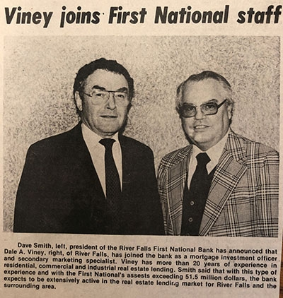 First National Bank History - 32 - 1982